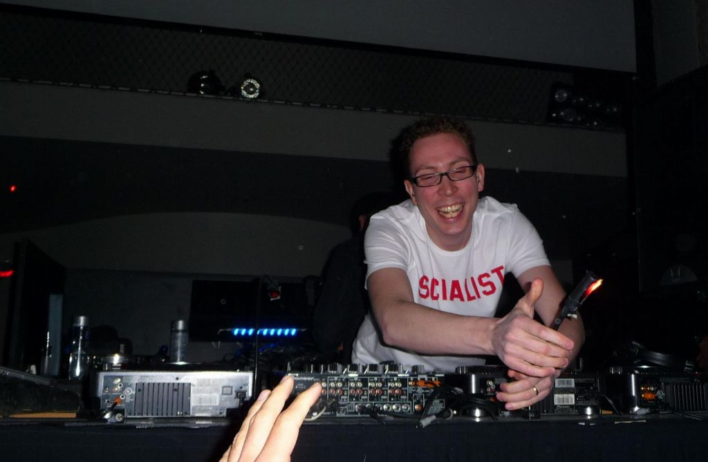 Paavo, having a good time