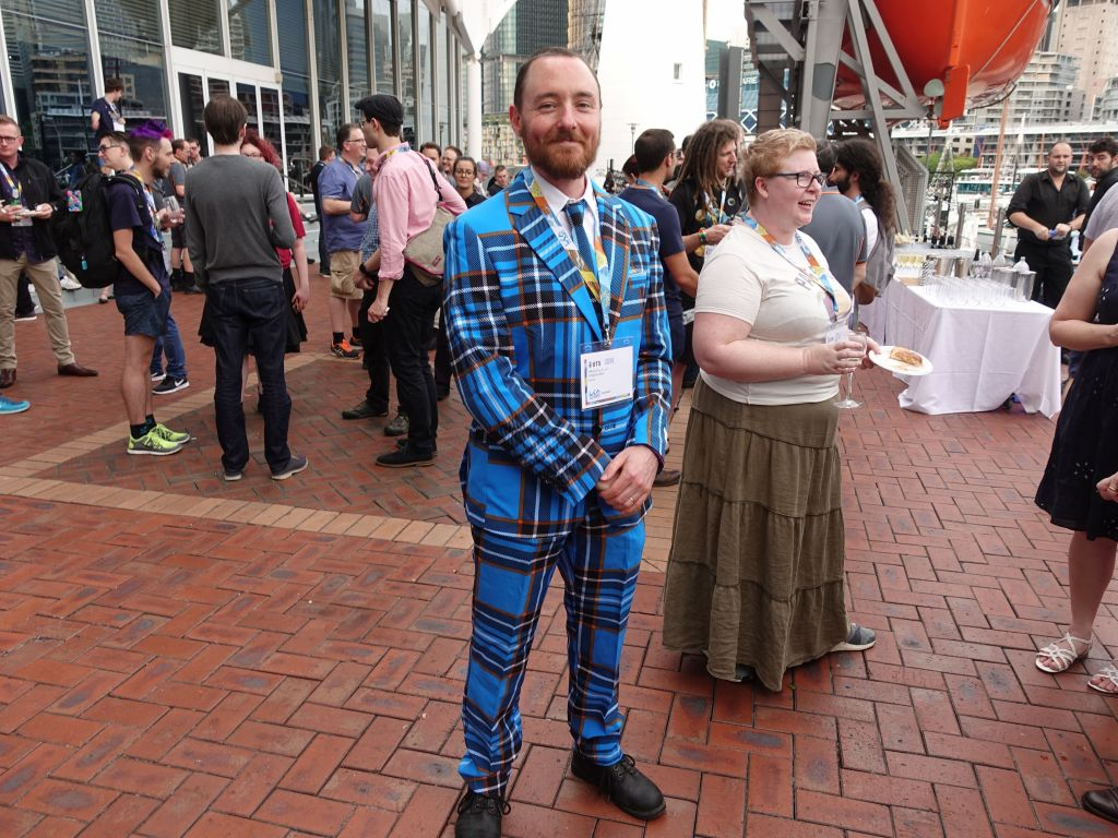winner of the best suit!