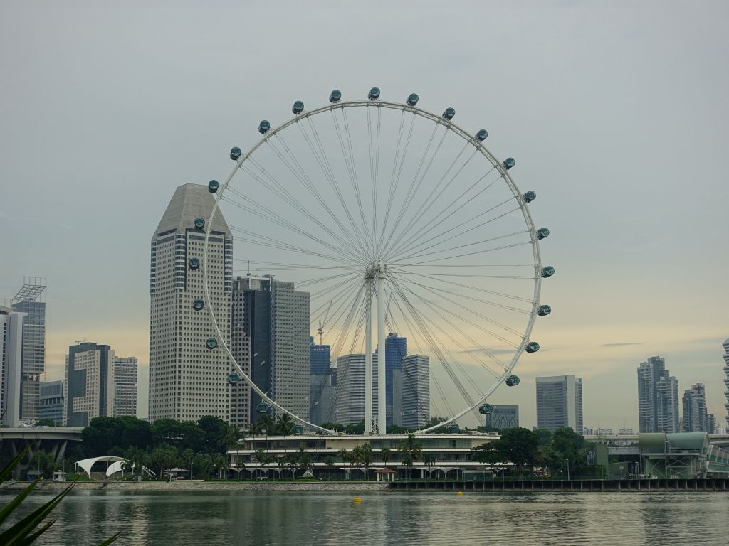 view taken later (from garden by the bay)
