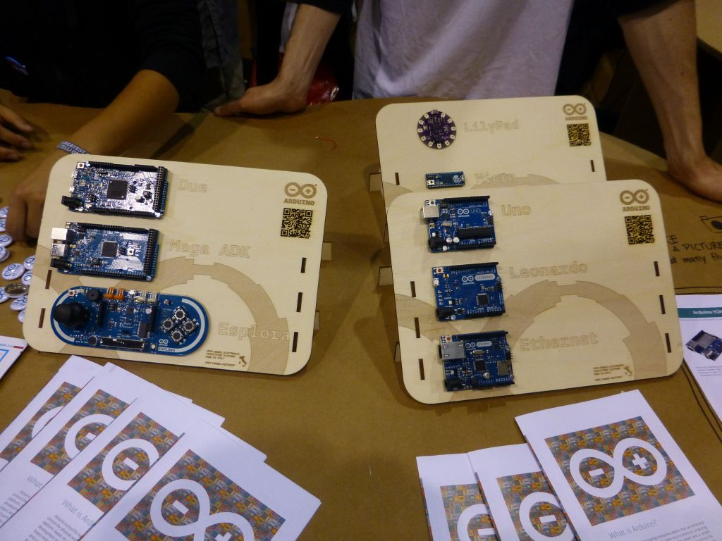 all the official arduinos you can get today
