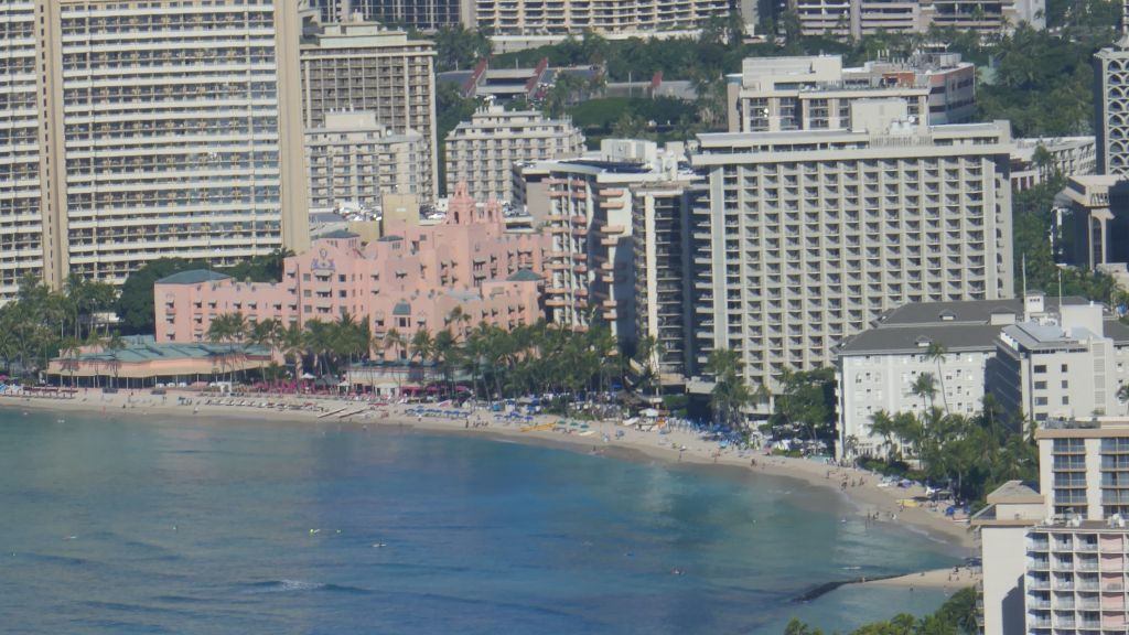 Waikiki where we spent monday afternoon