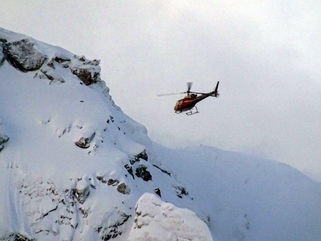 Avalanche control is too easy, they fly a heli an throw dynamite sticks :)