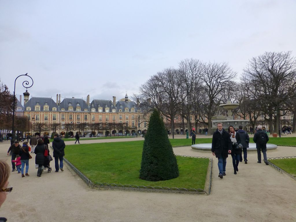 Place des Vosges, which I had never seen