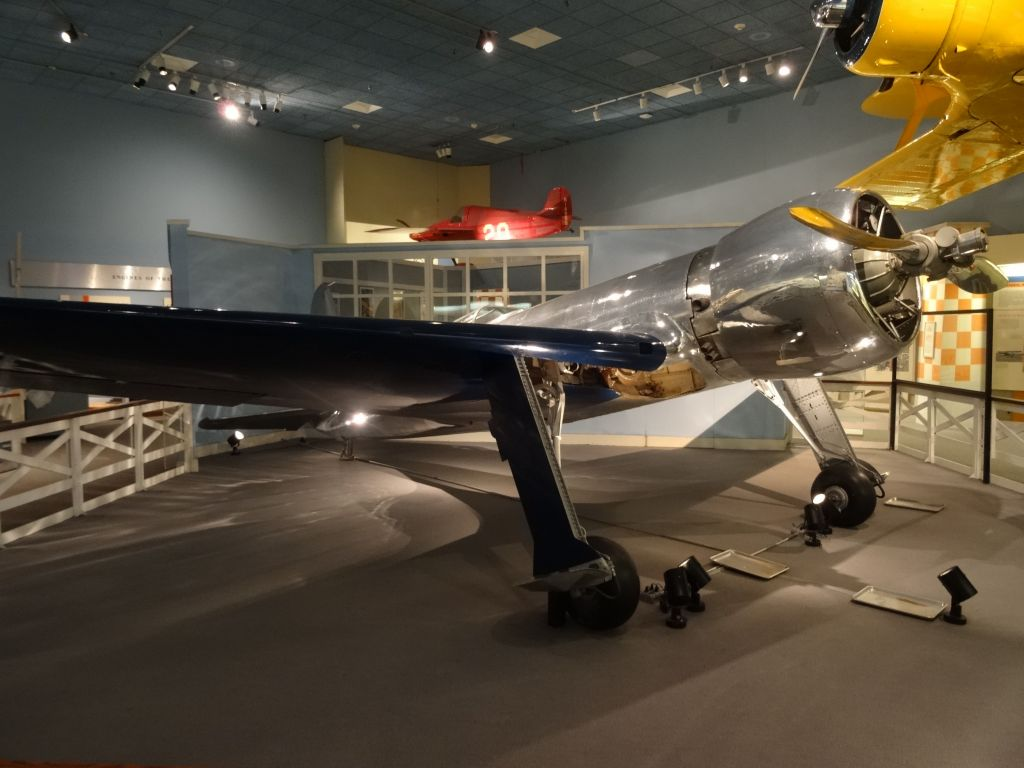 Howard Hughes' speed record plane