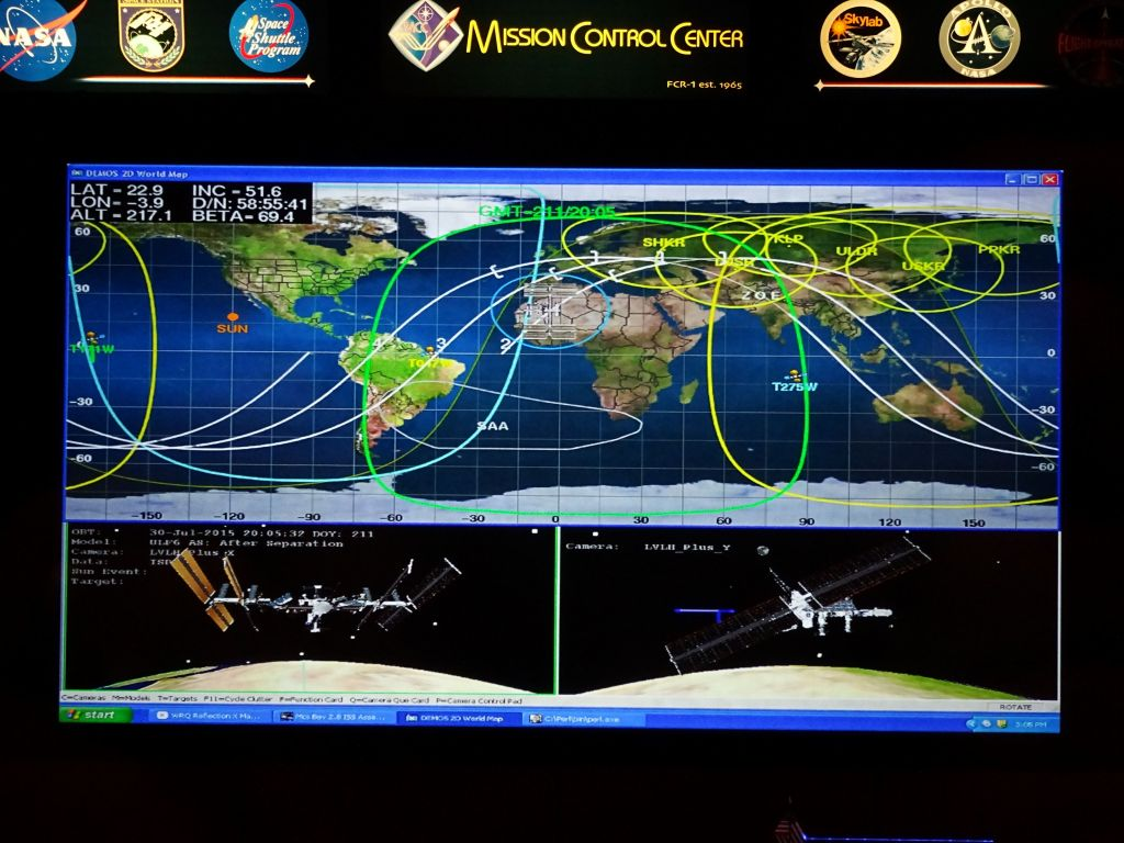 Mission Control Monitor : Marc s public flying july
