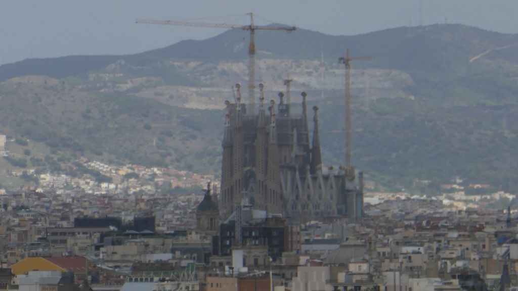 Sagrada Familia, still being built