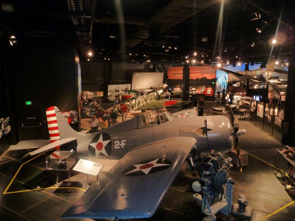 Their warbird collection was quite good and well layed out