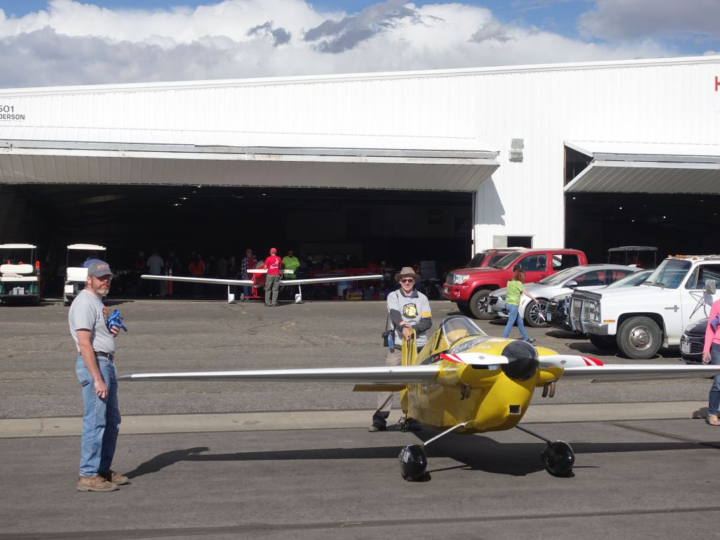 some races used very small planes, less drag, more speed