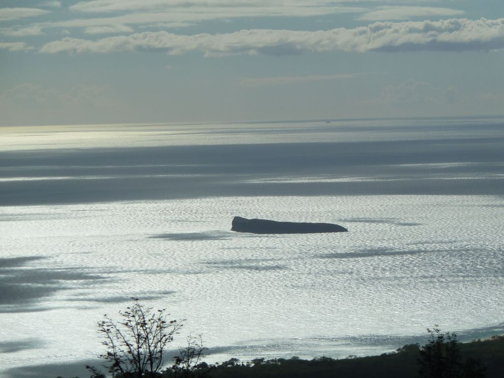we were able to see Molokini from the road
