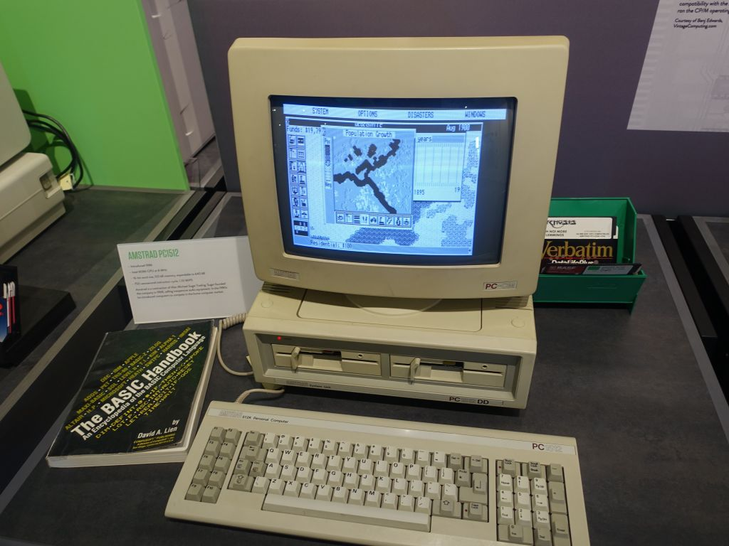we had a Amstrad PC1512 at home