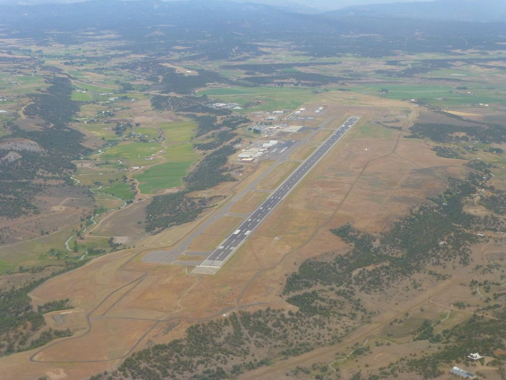Nice little runway at Durango