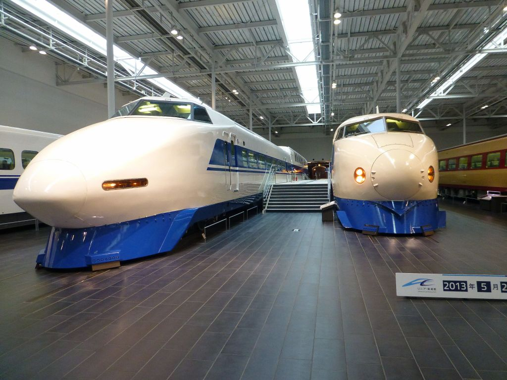 this is why they're called bullet trains
