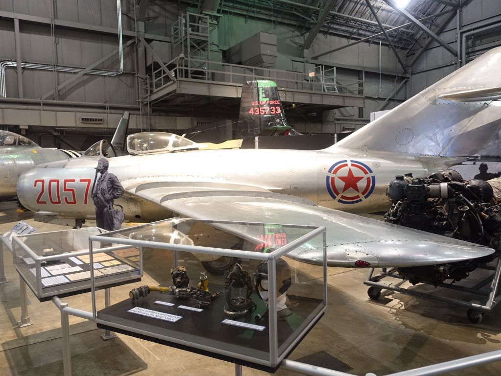 First MiG 15 that made it to the US thanks to a defector who brought it