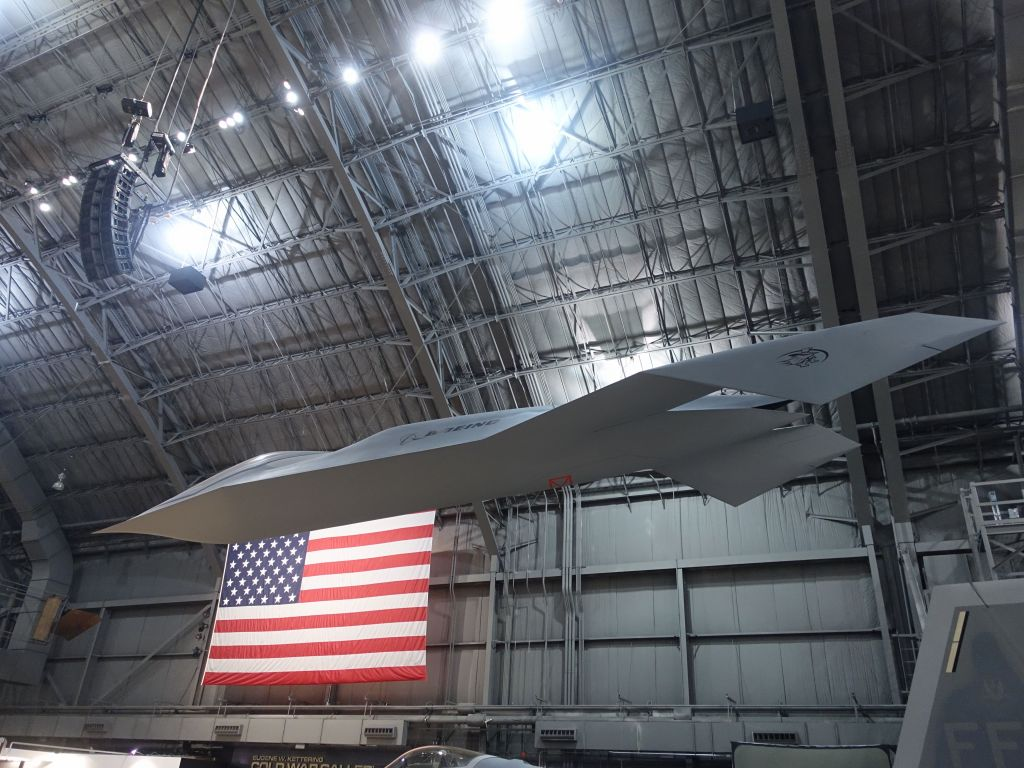 Boeing Bird of Prey was built to test stealth technologies