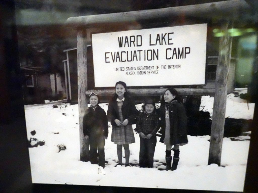 we learned about more 'evacuation' camps in AK during WWII