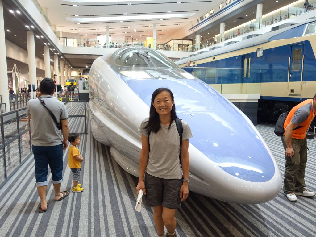 that JR500 shinkansen looks bad ass