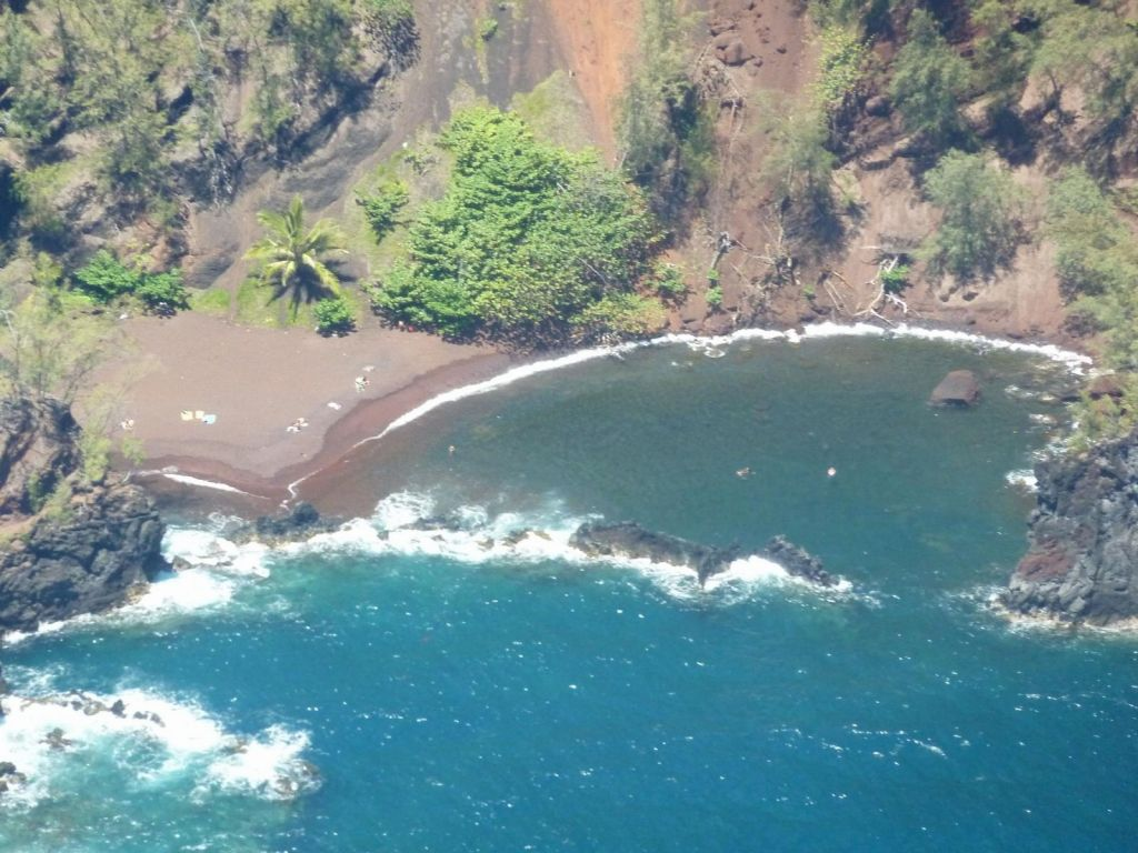 Hana's Red Sand Beach