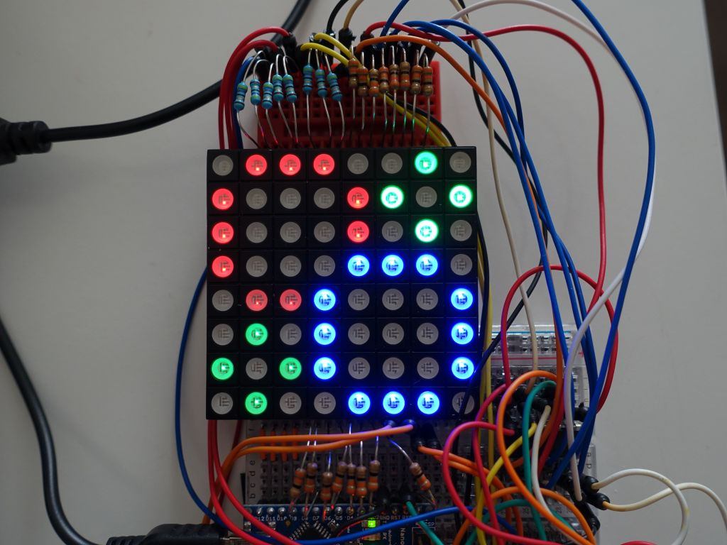 generating circles with the Adafruit::GFX library