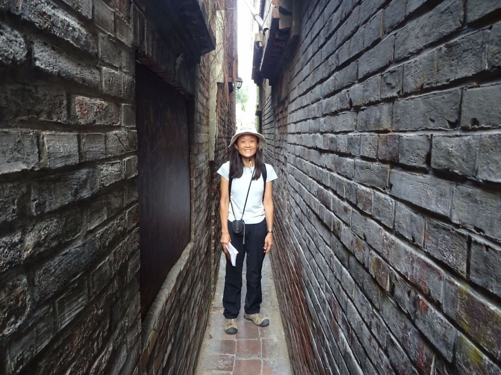 the narrowest street in town