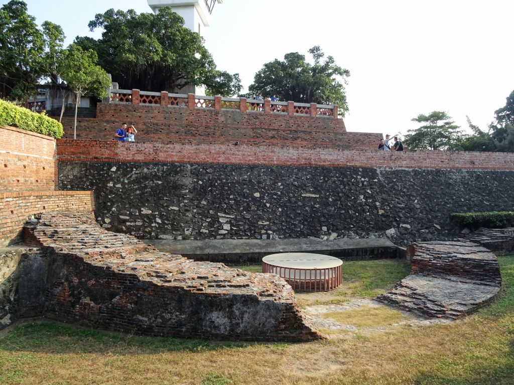 not much left of the original fort
