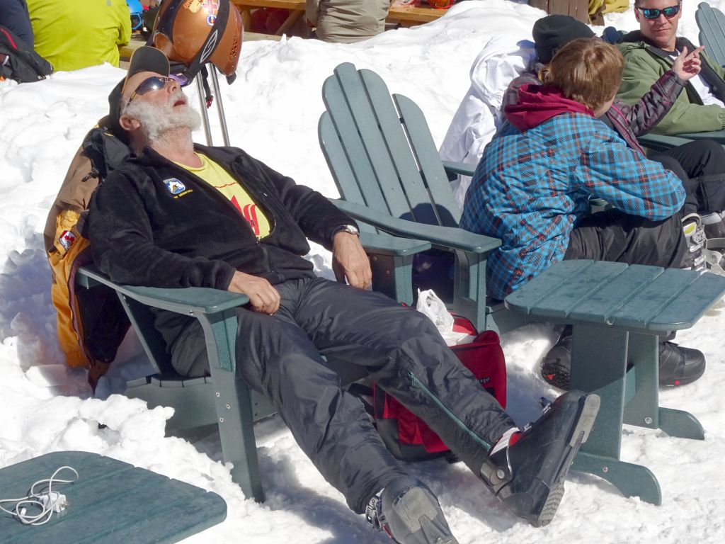 skiing is hard work :)