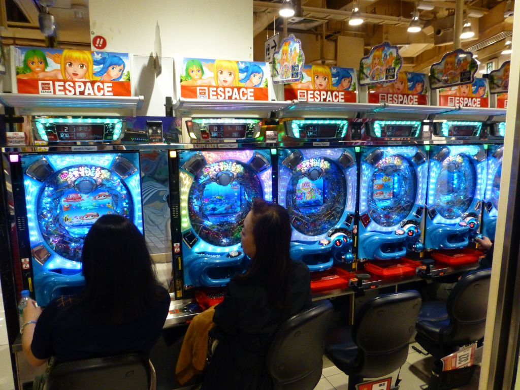 Patchinko machines sure got fancy since last times I saw them