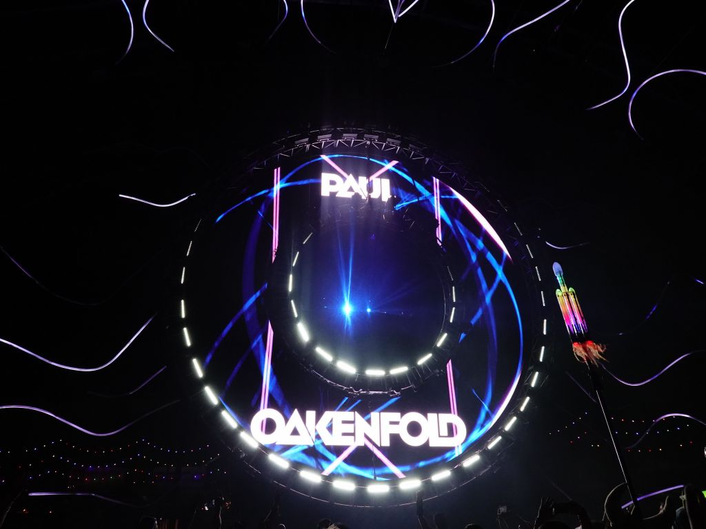 then Paul Oakenfold took over