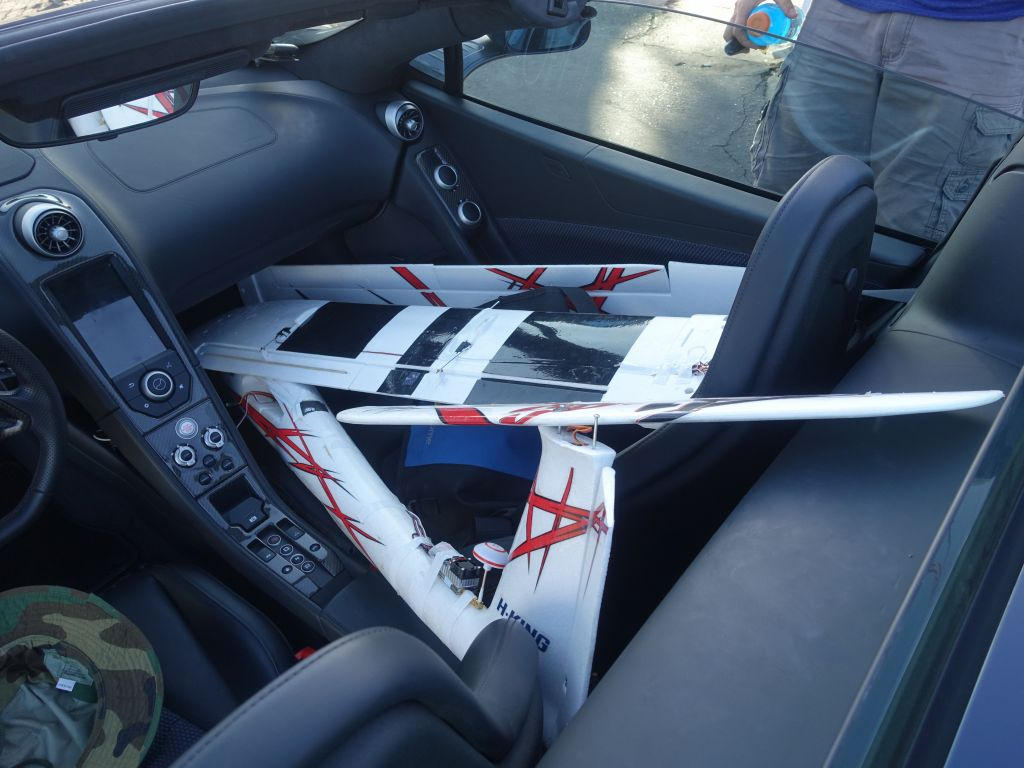 my bigger power glider barely fits in my car :)