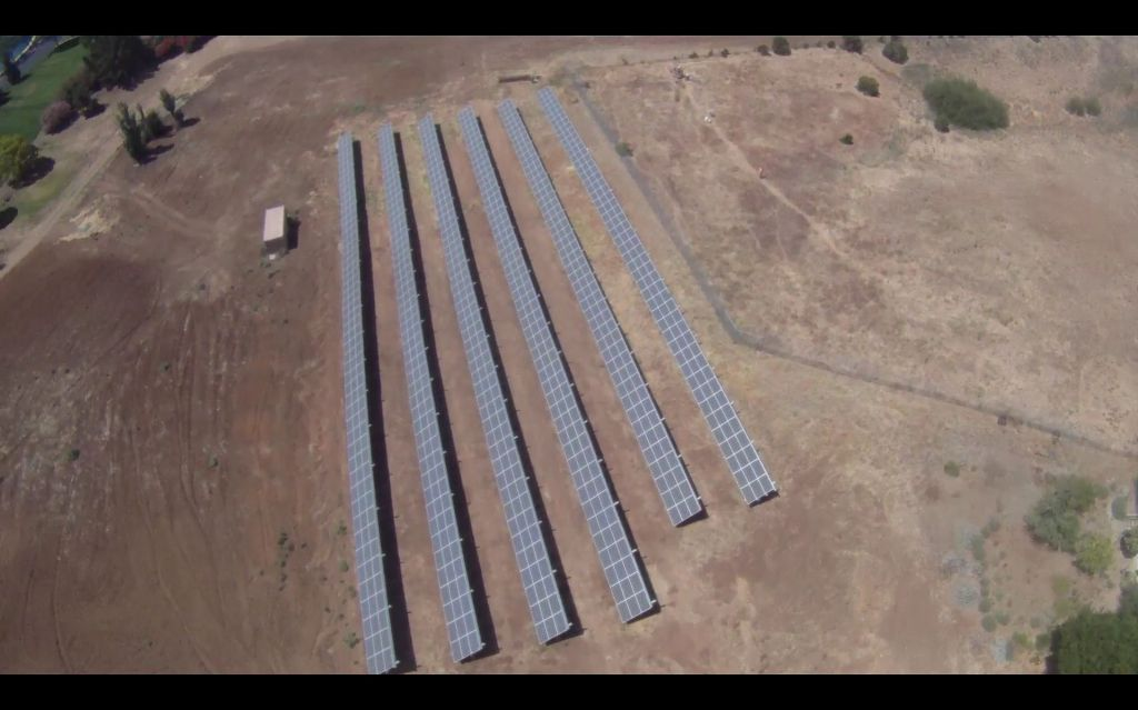 they have a nice array of solar panels