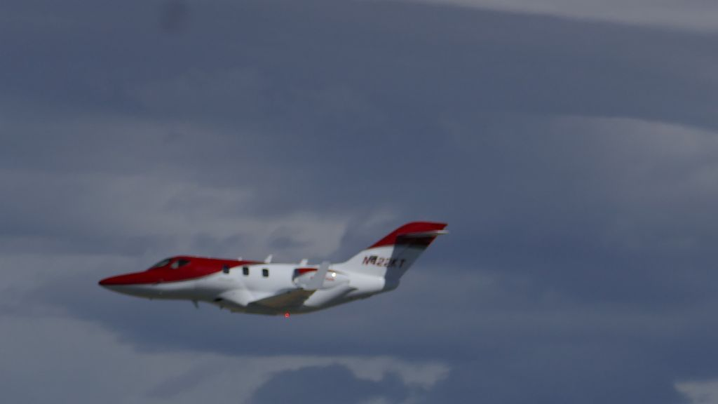 honda jet demo, it was super quiet
