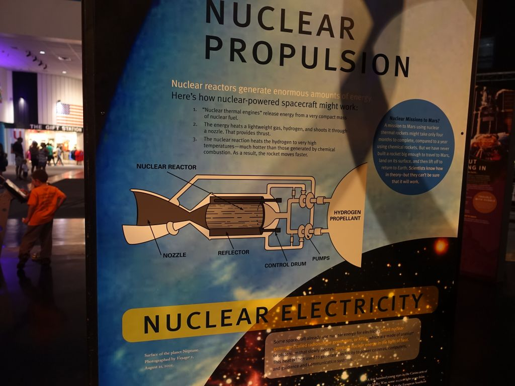 nuclear propulsion would be good