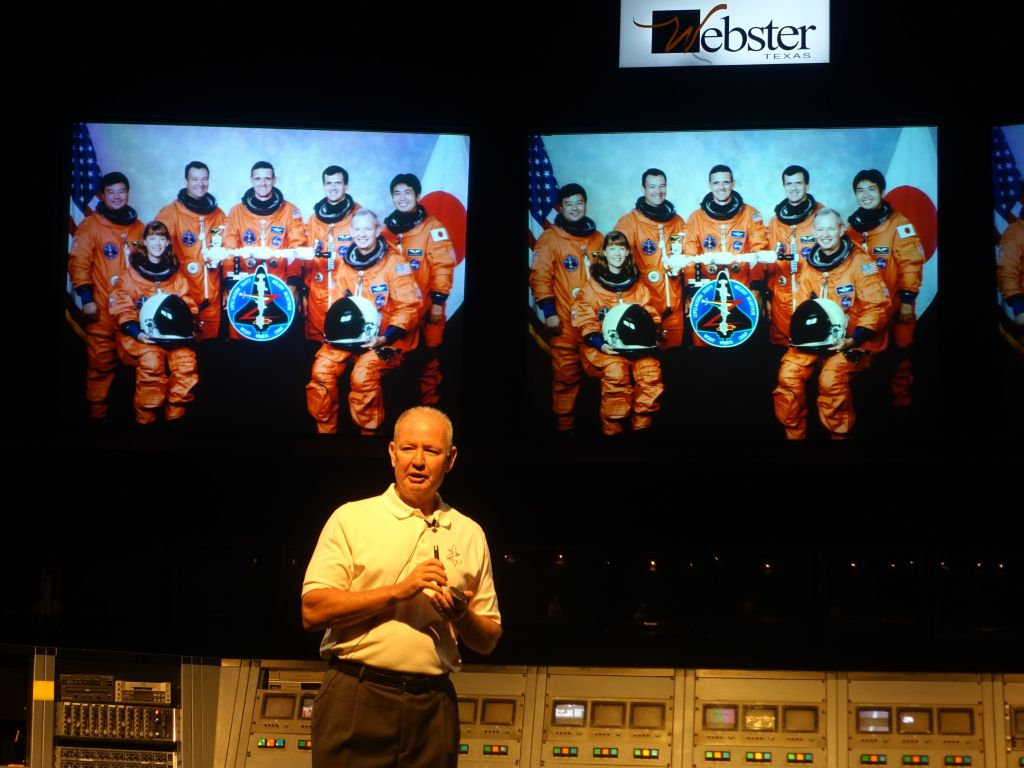 one astronaut gave us a talk