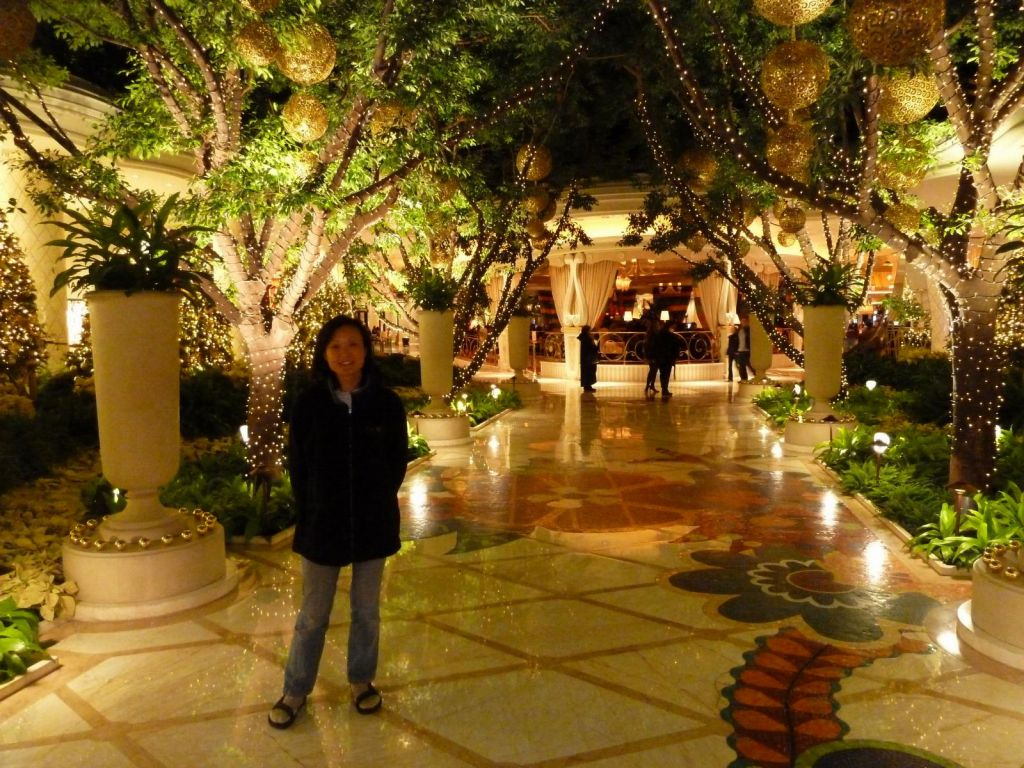 The Wynn's decor is really nice