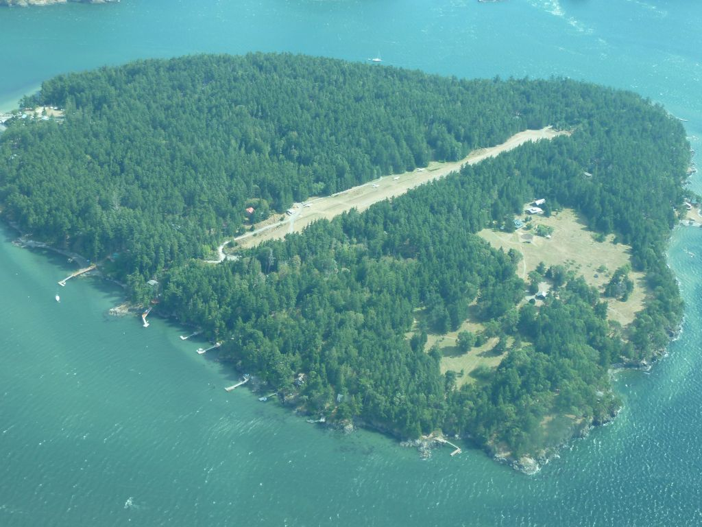 little island just next to Lopez Island, pretty cool.
