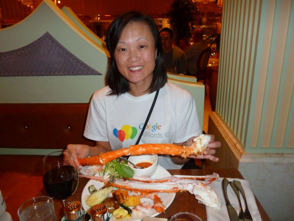 The Wynn buffet's King Crab legs also 'got it' :)