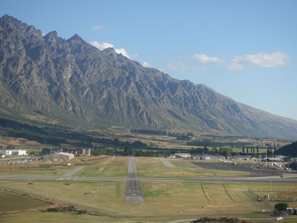 back in queenstown airport