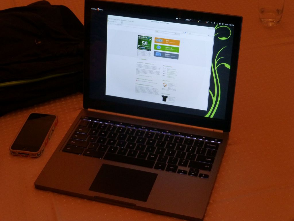 Chromebook Pixel running Suse Linux