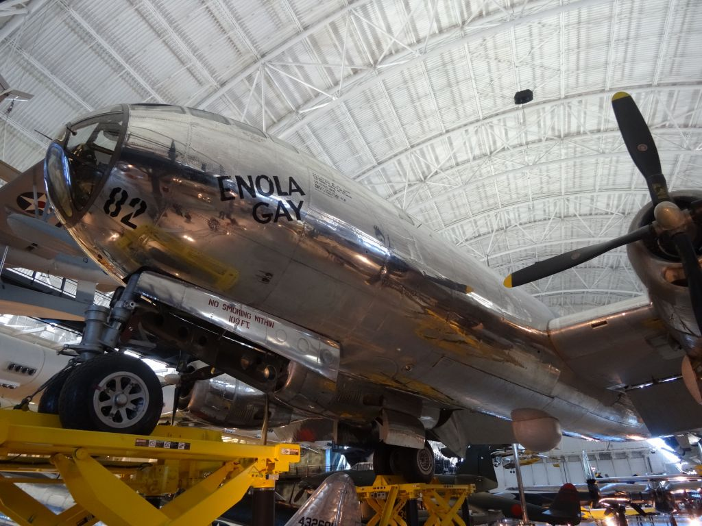 Enola Gay was the superfortress that dropped the atom bomb on Hiroshima