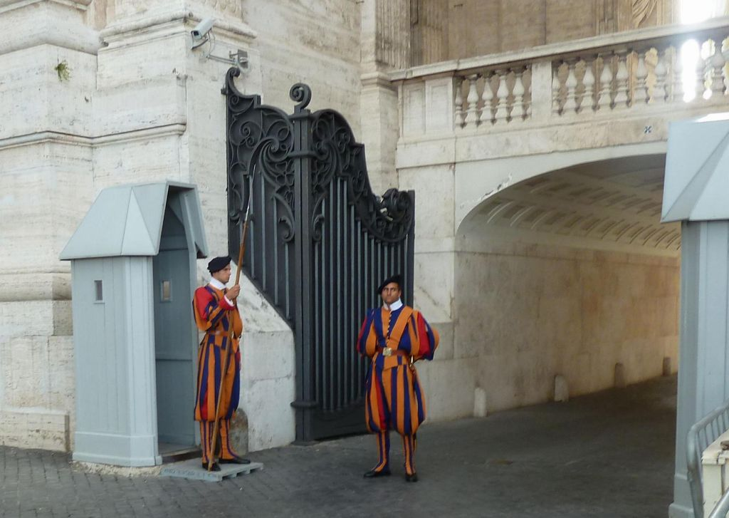 The special Vatican Guards