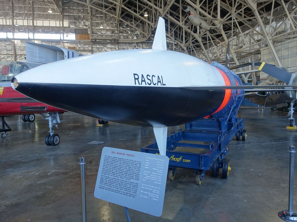 the rascal was a supersonic missile with nuclear warhead