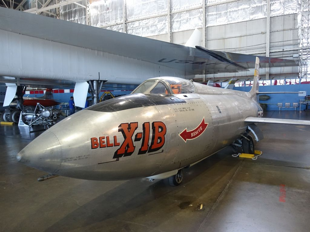 Bell X-1B, sound barrier breaker