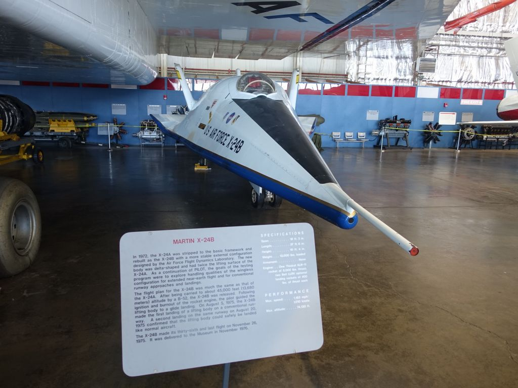 another pre-space shuttle near-spacecraft, the Martin X-24B