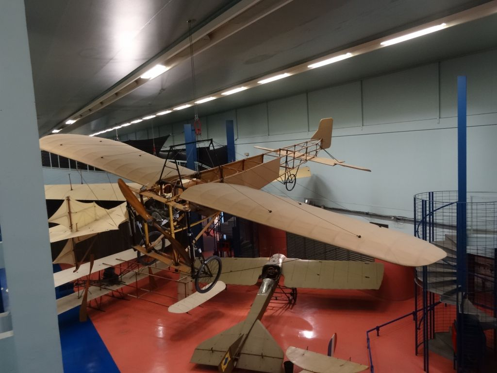 Le Bleriot, the first plane to cross the channel