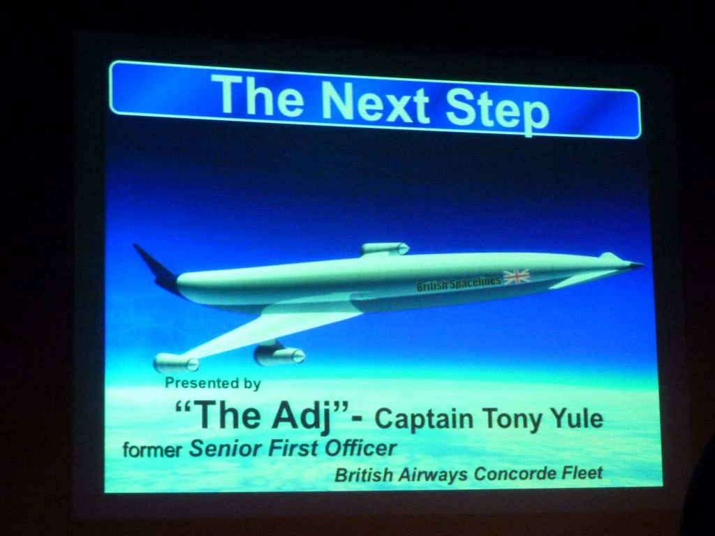 talk on faster than sound airplanes we might have one day to replace the concorde