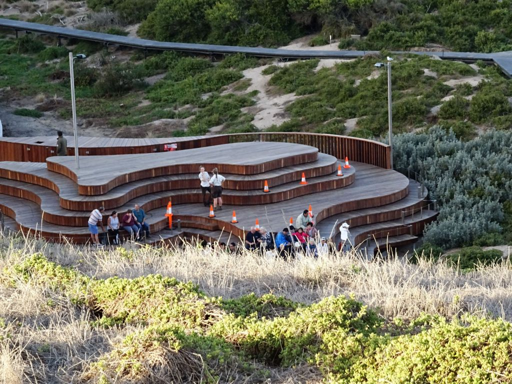 we had premium viewing tickets in this location