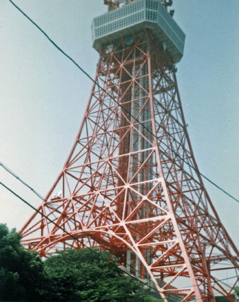 Tokyo Tower, which didn't fit in my camera at all :)