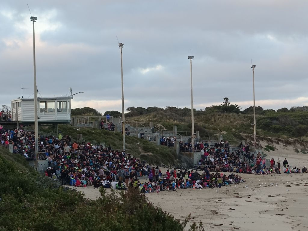 general viewing area