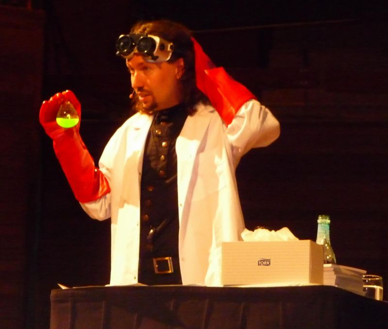 we had mad scientists