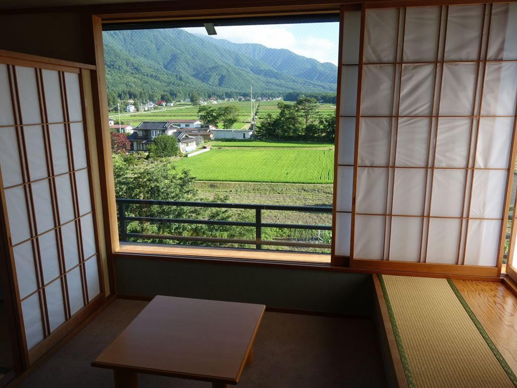 nice view from our Ryokan room