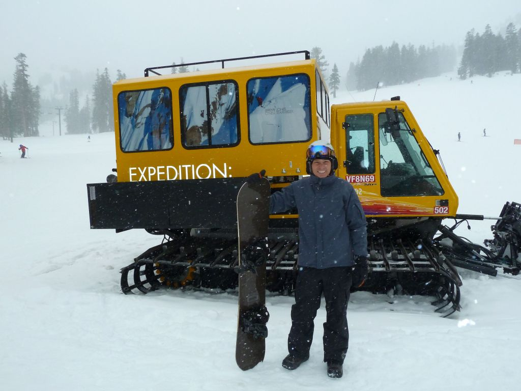 maybe we should ride that snowcat one day